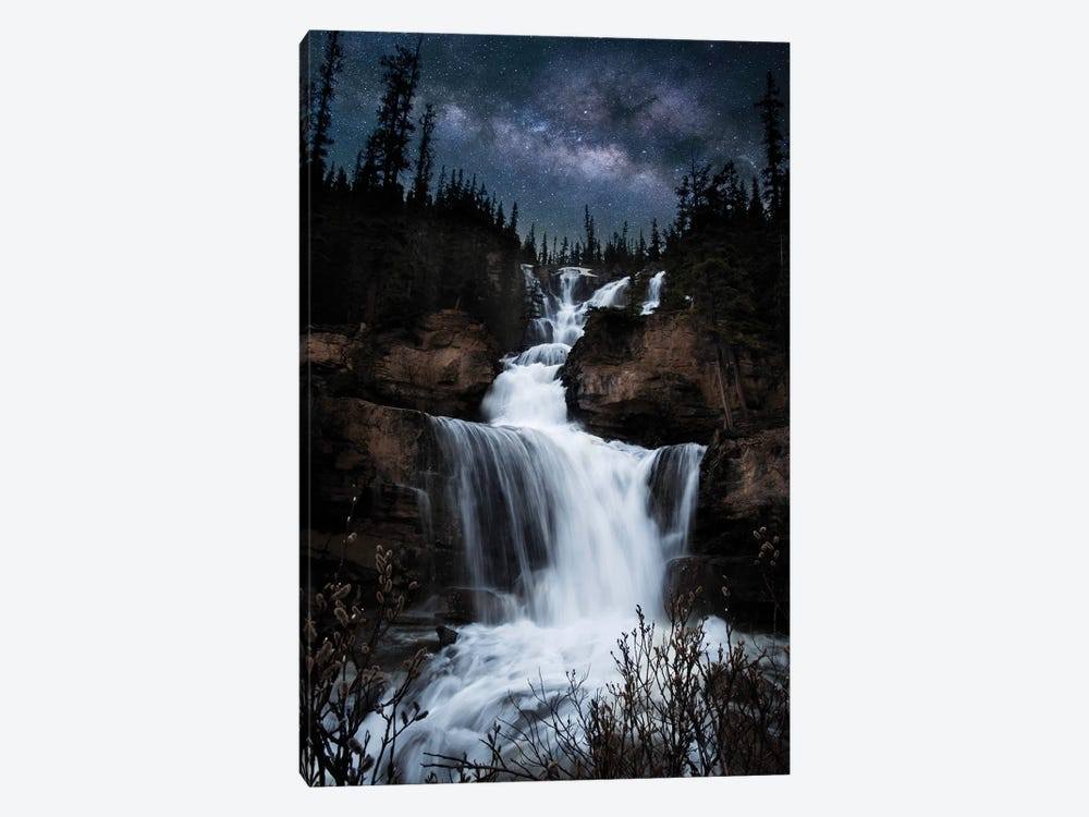 Milky Way Waterfall by Lucas Moore 1-piece Art Print