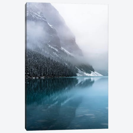 Misty Reflection Canvas Print #LCS58} by Lucas Moore Canvas Art