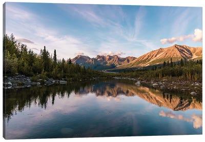 Alaskan Reflection Canvas Art Print