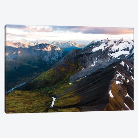Mountains And Valleys Canvas Print #LCS62} by Lucas Moore Canvas Print