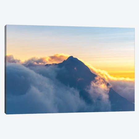 Alpine Glow 3-Piece Canvas #LCS6} by Lucas Moore Art Print