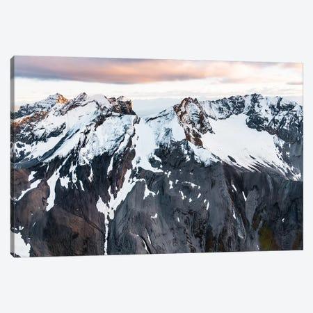 Pastel Mountaintop Canvas Print #LCS72} by Lucas Moore Canvas Artwork