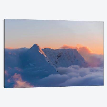 Pastel Peak Canvas Print #LCS73} by Lucas Moore Canvas Artwork