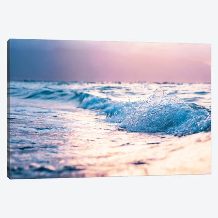 Pastel Waves Canvas Print #LCS75} by Lucas Moore Canvas Print