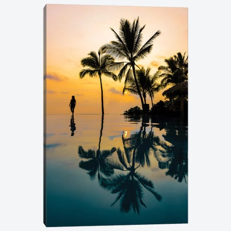 Relaxation Sunset Canvas Print #LCS78} by Lucas Moore Canvas Art
