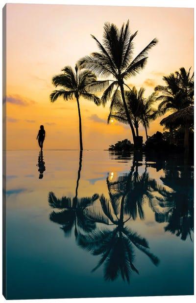 Relaxation Sunset Canvas Art Print