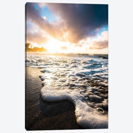 Seafoam Sunrise Canvas Print #LCS81} by Lucas Moore Canvas Print