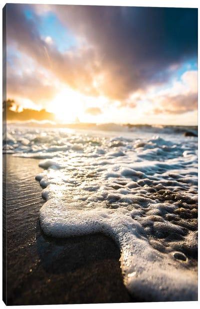 Seafoam Sunrise Canvas Art Print
