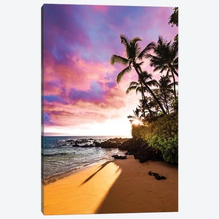 Secret Beach Canvas Print #LCS82} by Lucas Moore Canvas Print