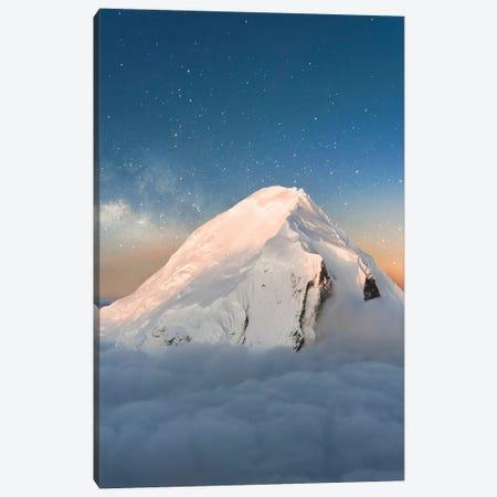 Starry Peak Canvas Print #LCS89} by Lucas Moore Canvas Art Print
