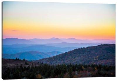 Autumn In Virginia Canvas Art Print