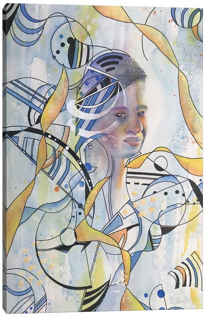 Abstract Man II Canvas Art Print