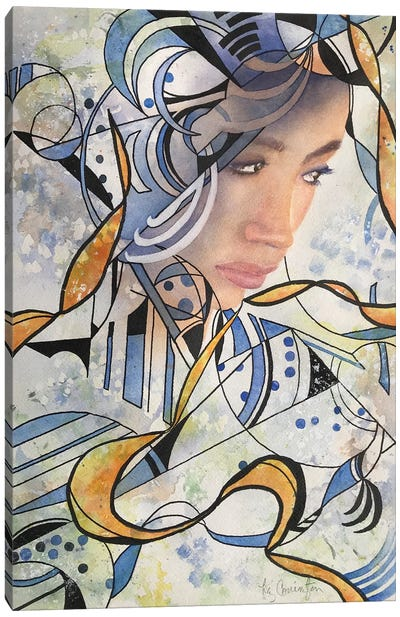 Abstract Woman II Also Canvas Art Print