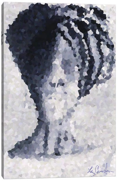 African Queen Canvas Art Print