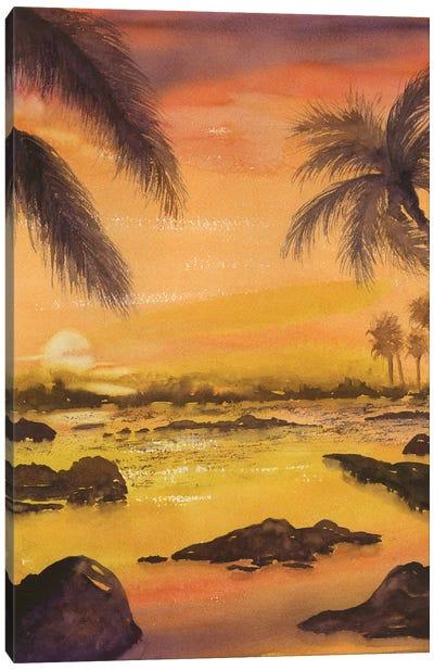 Balmy Sunset Canvas Art Print