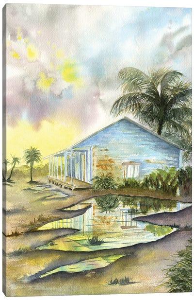 Carribean Sunset Canvas Art Print