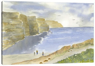 Cliffs Of Moher Canvas Art Print