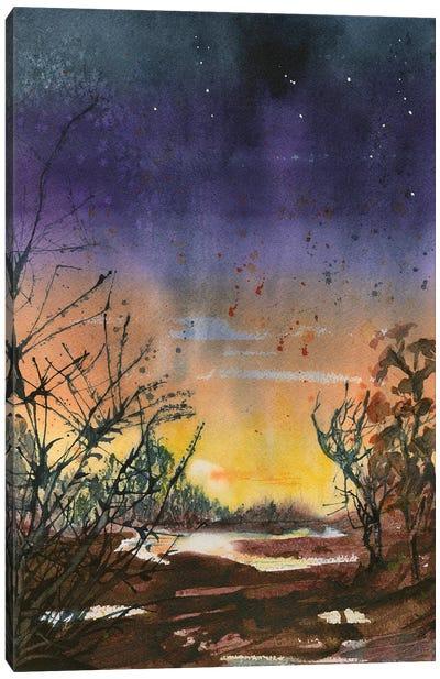 Desert Evening Canvas Art Print
