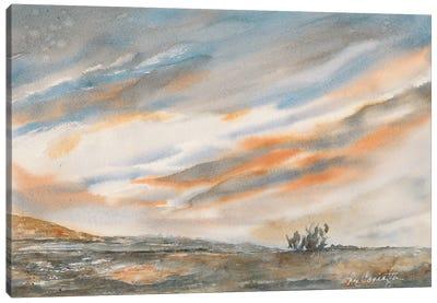 Desert Sunset Canvas Art Print