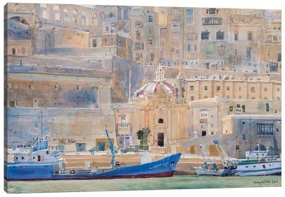 The City Of Stone, 2011 Canvas Art Print
