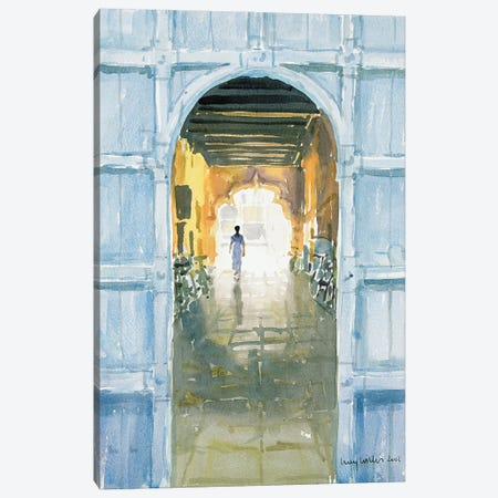 Walking Towards The Light, Cochin, 2002 Canvas Print #LCW14} by Lucy Willis Canvas Print