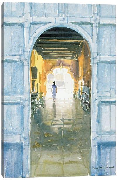 Walking Towards The Light, Cochin, 2002 Canvas Art Print