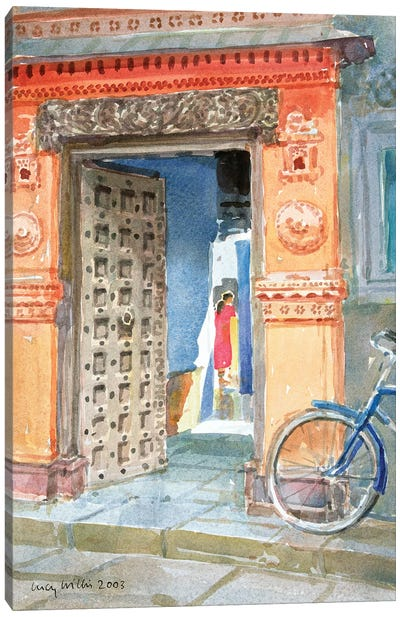 In The Old Town, Bhuj, 2003 Canvas Art Print