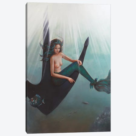 Into The Deep Canvas Print #LCZ18} by Liese Chavez Canvas Print