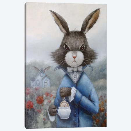 March Hare 3-Piece Canvas #LCZ23} by Liese Chavez Canvas Wall Art