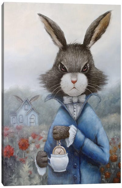 March Hare Canvas Art Print