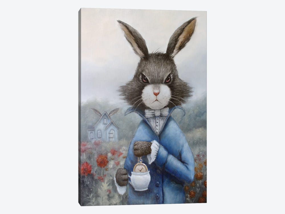 March Hare by Liese Chavez 1-piece Canvas Wall Art