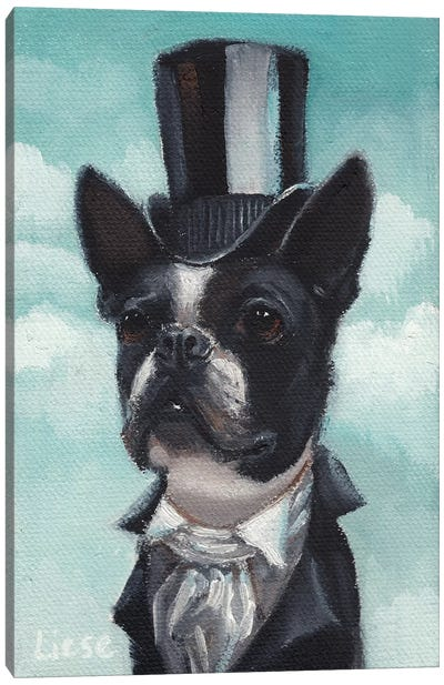 Mr. Pemberton Canvas Art Print