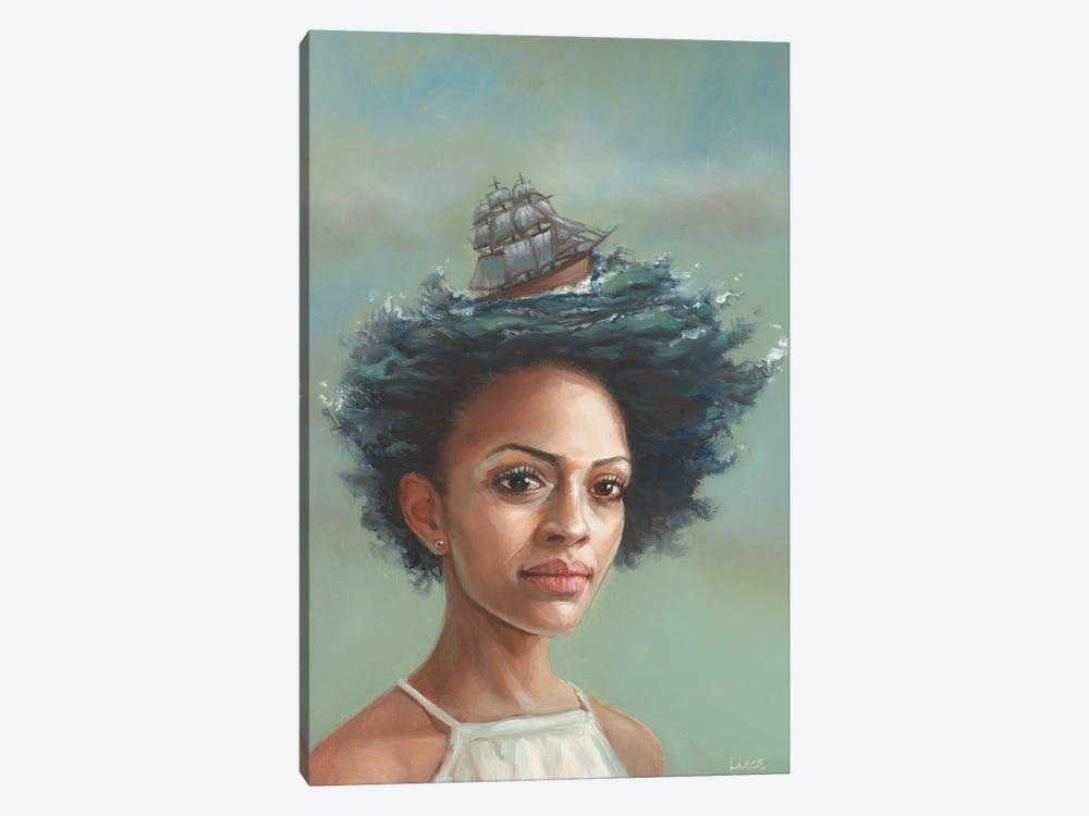 Secrets Of The Sea by Liese Chavez 1-piece Canvas Print