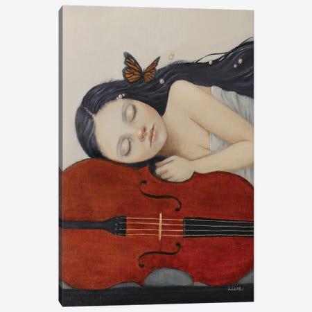 Sweet Dreams Canvas Print #LCZ35} by Liese Chavez Canvas Art