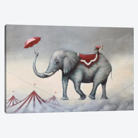 Up In The Air Canvas Print #LCZ44} by Liese Chavez Canvas Art Print