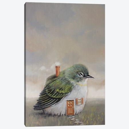 Bird House Canvas Print #LCZ4} by Liese Chavez Canvas Wall Art