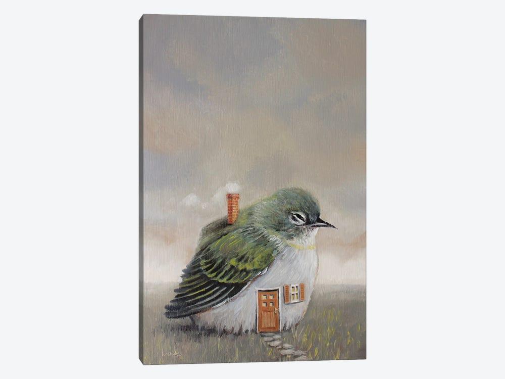 Bird House by Liese Chavez 1-piece Canvas Artwork