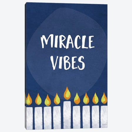 Miracle Vibes Canvas Print #LDA102} by Linda Woods Canvas Artwork