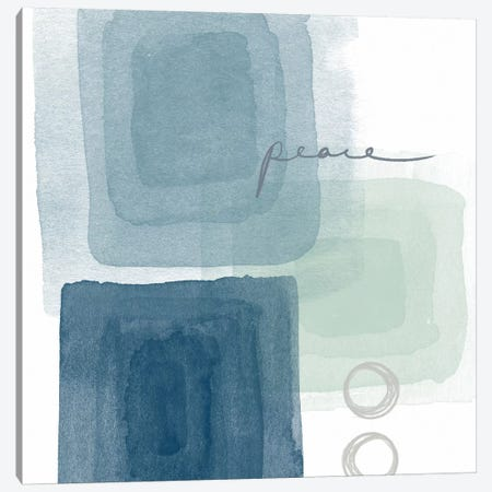 Soothing Peace Canvas Print #LDA10} by Linda Woods Canvas Art Print