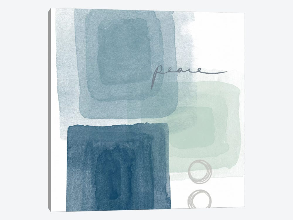 Soothing Peace by Linda Woods 1-piece Canvas Wall Art