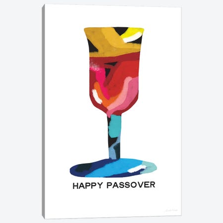Passover Goblet Canvas Print #LDA112} by Linda Woods Canvas Art Print