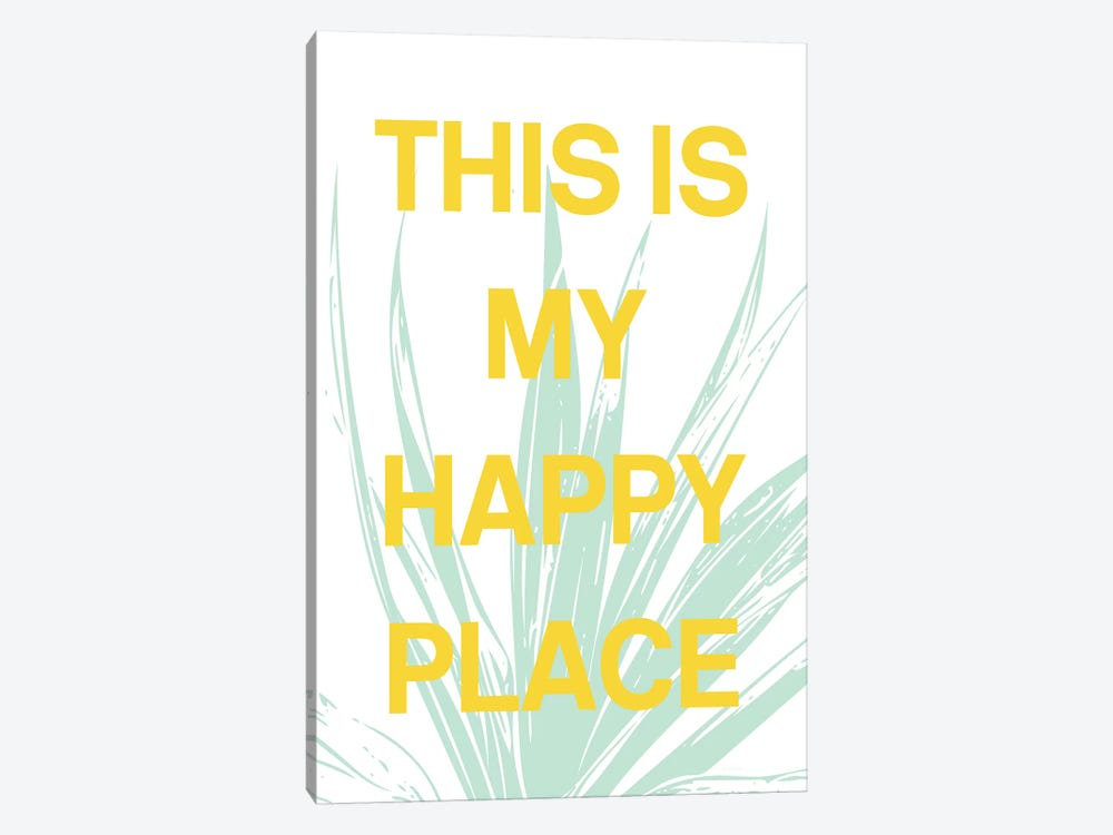 This Is My Happy Place by Linda Woods 1-piece Canvas Print
