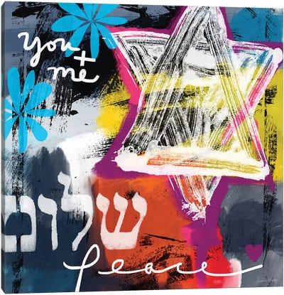 Peace Star Canvas Art Print