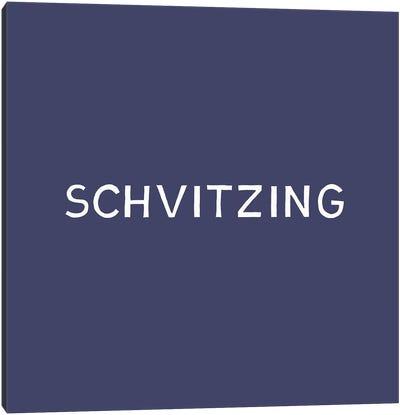 Schvitzing Canvas Art Print