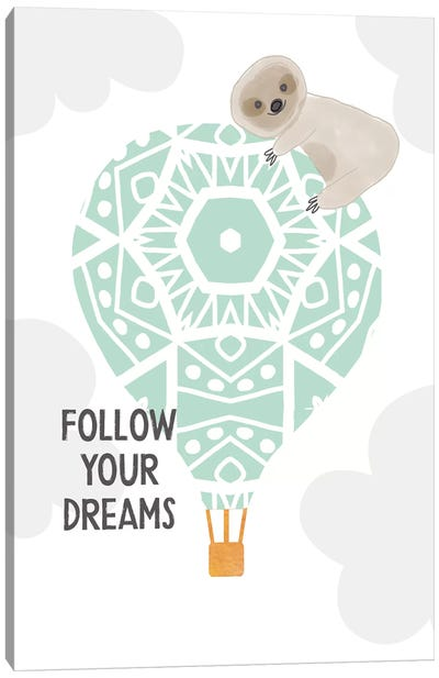 Follow Your Dreams I Canvas Art Print