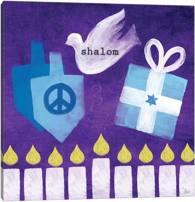 Shalom I Canvas Art Print
