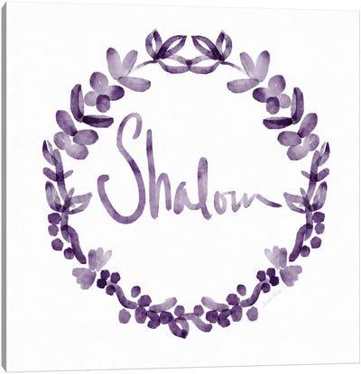 Shalom IV Canvas Art Print