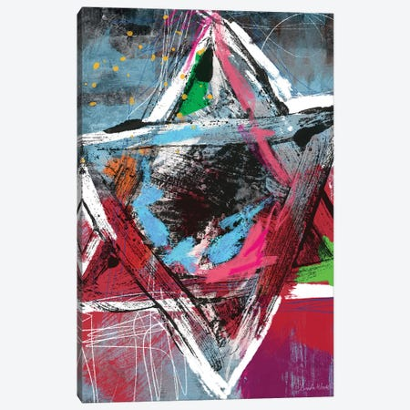 Star of David Canvas Print #LDA139} by Linda Woods Canvas Art Print