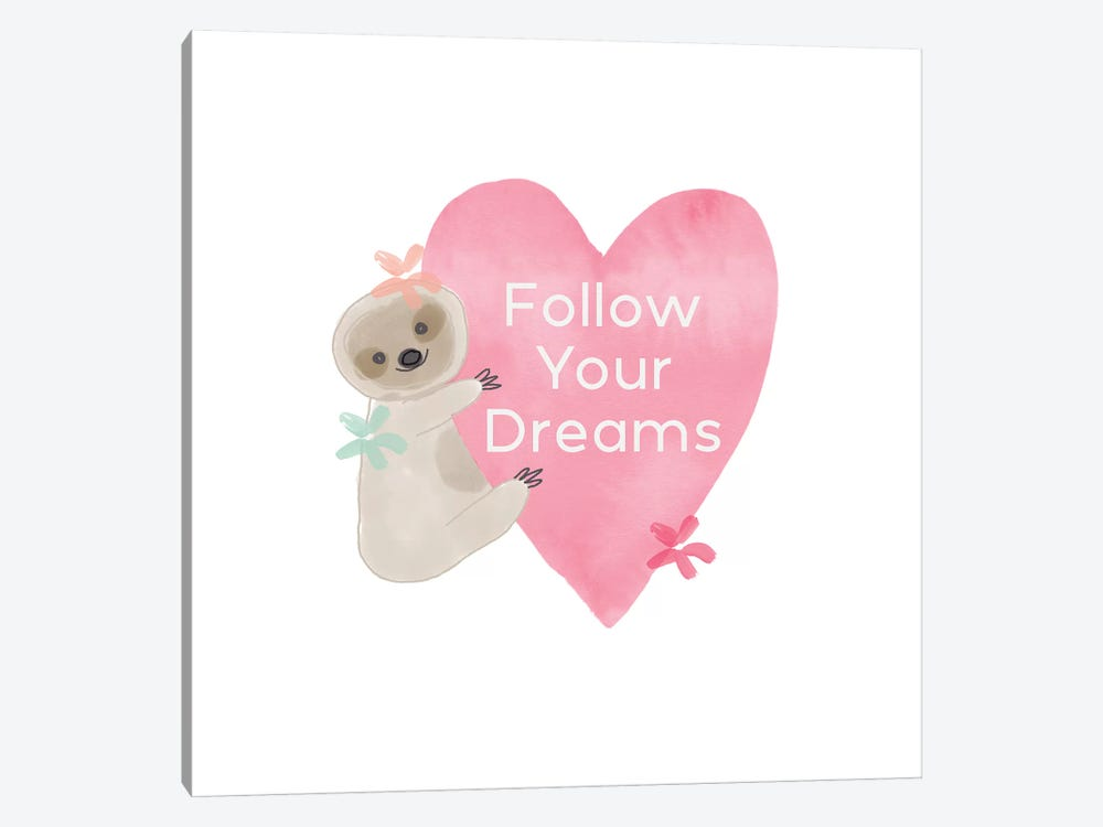 Follow Your Dreams II by Linda Woods 1-piece Art Print