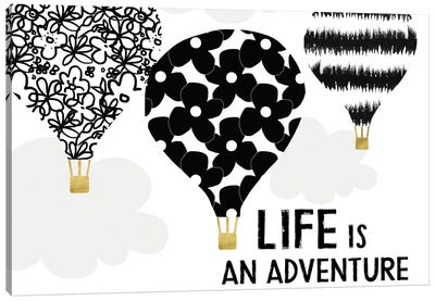 Life Is An Adventure Canvas Art Print